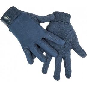 Перчатки из хлопка арт.RUSH1217 -синий - M