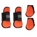 "Ногавки ""luxe""(стан),QHP арт.RUSQ4034-Full-оранжевый"