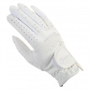 """Перчатки для взрослых """"Light & Soft""""арт.RUS4140-белый- M"""