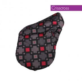 Чехол для седла,QHP арт.RUSQ8081-Crisscross