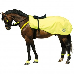 Попона светоотражающая с флисовой подкладкой, Horse-Friends арт.5426