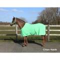 """Попона """"fleece color"""",QHP арт.RUSQ6121-зеленое яблоко- 145 см"""