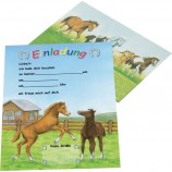 Приглашение'Pferde im Galopp'арт.30275