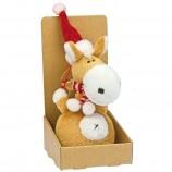 Брелок'Weihnachtspferd mit Schal'арт.306313