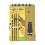 "Блокнот с карандашами""Bee my Pony""арт.30376"