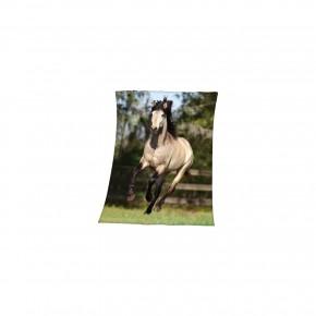 "Одеяло флисовое ""Pferd""арт.30822"