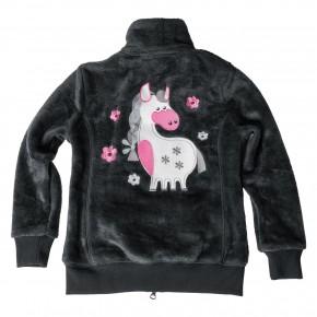 Толстовка Flower Pony детская,black-forest  арт.102604