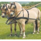 Упряжь для одной лошади, с анатомически приданной формой шорки арт.49038